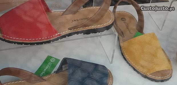 Sandálias mulher novas