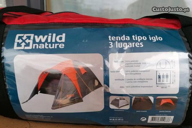 Tenda iglo para 3 pessoas wild nature