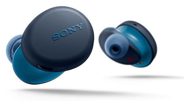 Auriculares in-ear sony wf-xb700b true wireless azul