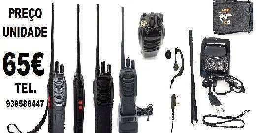 Equipamento de rádio cb comunicações p/ hotelaria