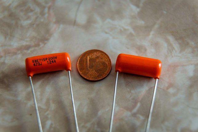 Orange drop.047uf para guitarra e baixo