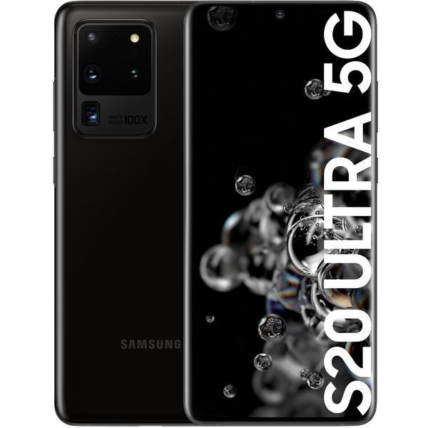 Smartphone samsung galaxy s20 ultra 5g preto cósmico - 6.9