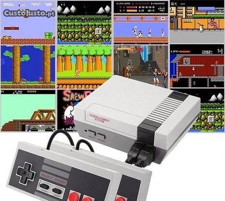 Consola vintage retro c/ 620 jogos incluidos novo