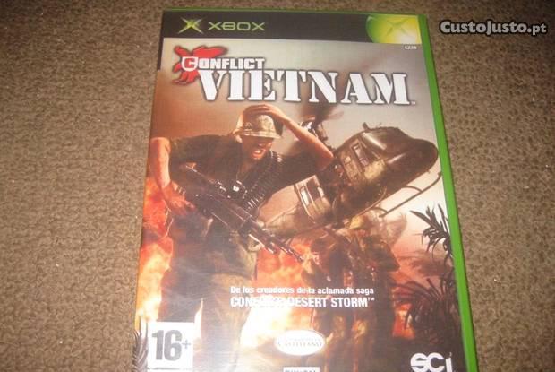 """Jogo """"conflict vietnam"""" para a xbox"""