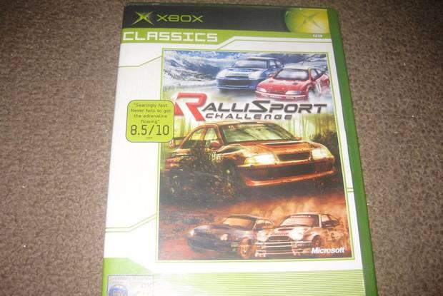"Jogo ""rallisport challenge"" para xbox/completo!"