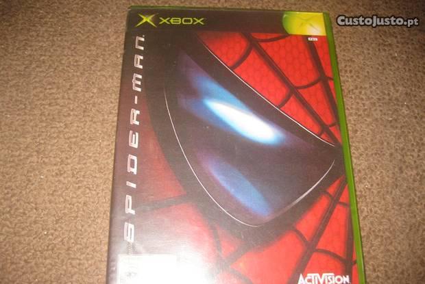 """Jogo """"spider-man"""" para a xbox"""