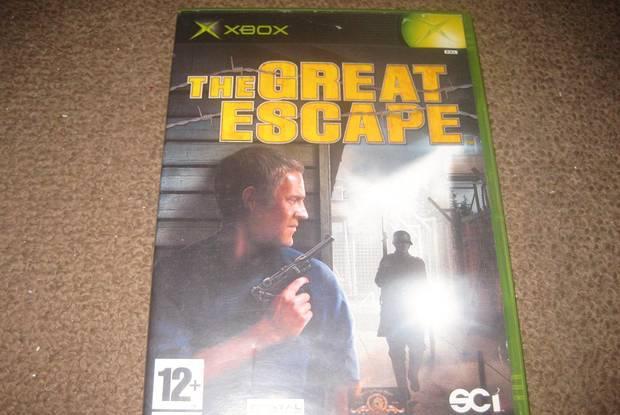 """Jogo """"the great escape"""" para xbox/completo!"""