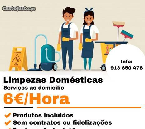 Limpezas domestica (serviços ao domicilio)