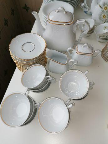 Loiças vista alegre. conjunto de chá, conjunto de café...