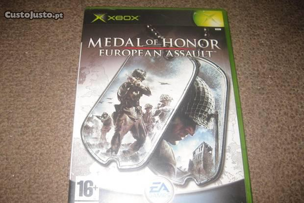 """Medal of honor: european assault"""" xbox/completo!"""