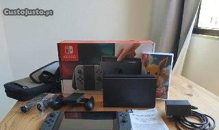 Nintendo switch 200 gb - como nova
