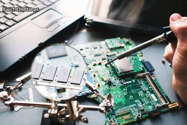 Serviços informáticos reparação de computadores