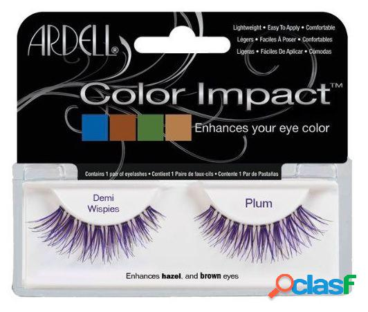Ardell impact color tabs demi plum wispies