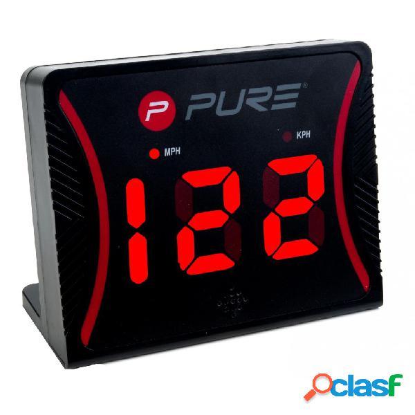 Pure2improve radar de velocidade plástico preto