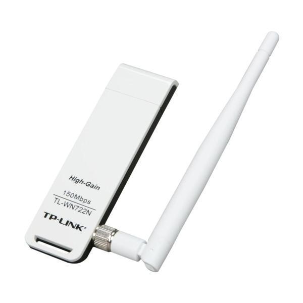 Adaptador usb wireless tp-link tl-wn722n n 150mbps