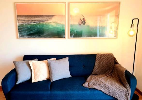 Apartamento t3 2wc mobilado com internet e tv incl