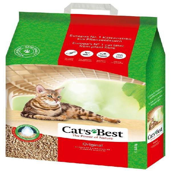 Areia para gato 8kg - cats best