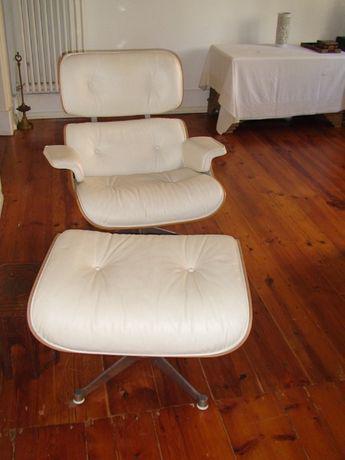"Cadeira original charles e ray eames da vitra ""lounge chair"
