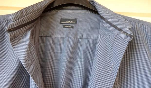 Camisa da zara slim fit - tamanho xl / 42
