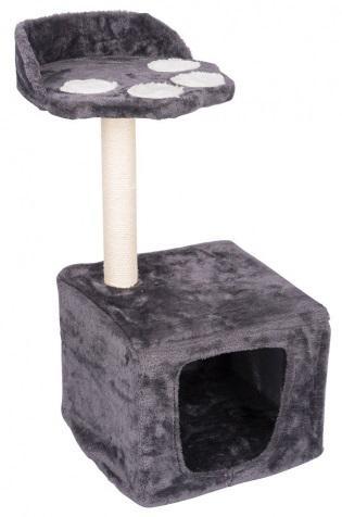 Plataforma de gatos c/ arranhador (62 x 30 x 34cm) - pet