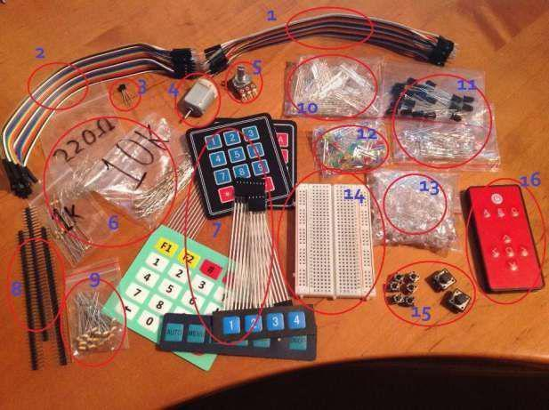 Arduinoartigos/componentes electrónicos novos
