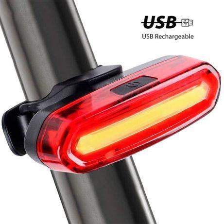 Luz led traseira btt ciclismo estrada bicicleta trail