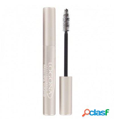 Logona máscara de pestanas volume 01 deep black 8 ml