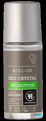 Urtekram deodorant roll on 50 ml bio eucalyptus 50 ml