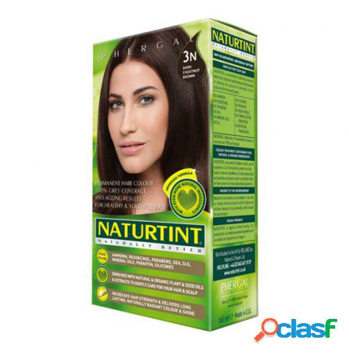 Naturtint castanha escura permanente da tintura de cabelo 3n