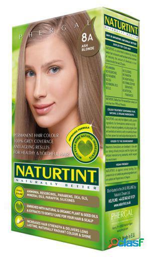 Naturtint tintura de cabelo permanente 8a rubio ceniza