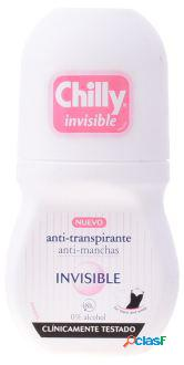 Chilly desodorizante invisível roll on 50 ml 50 ml