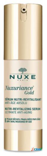 Nuxe nuxuriance gold soro nutritivo-revitalizante de 30 ml