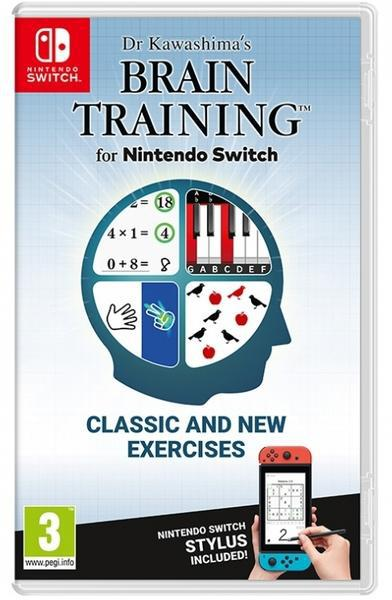 Jogo switch dr. kawashimas brain training