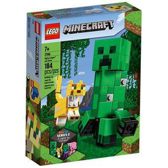 Lego minecraft 21156 bigfig creeper e ocelote