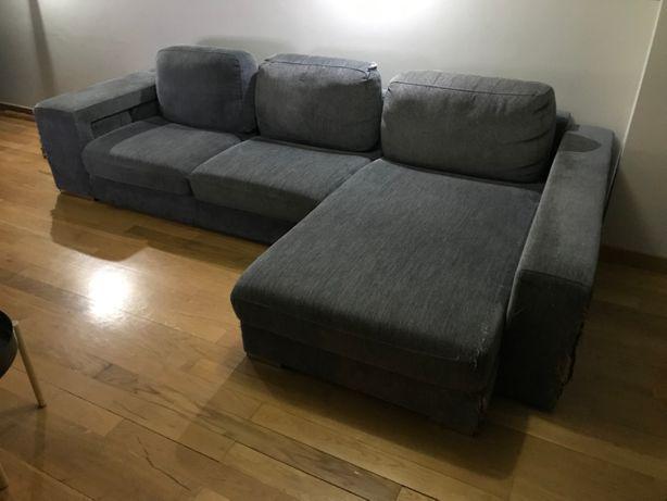 Sofá chaise longue usado