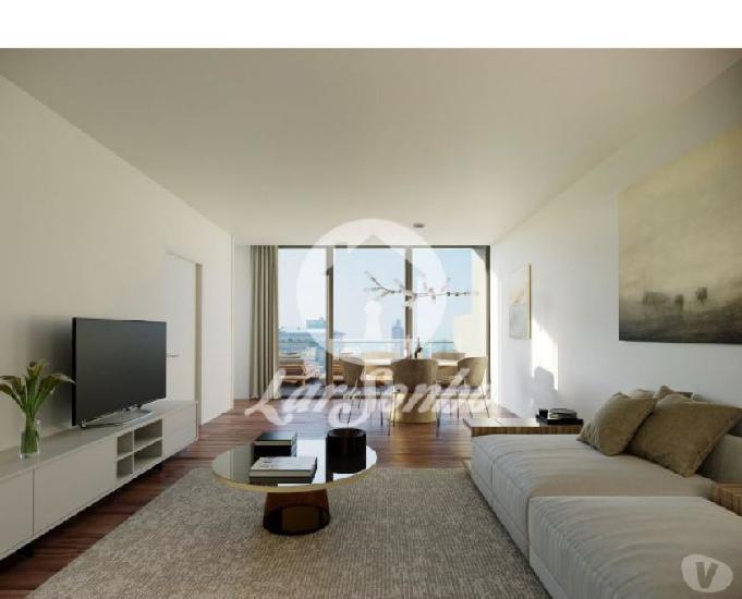 Apartamento novo t3 de luxo centro da cidade (259-a-00083)
