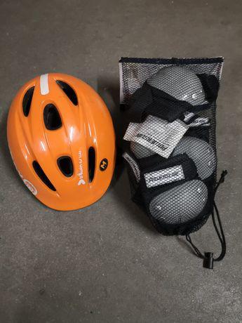 Protecções para criança (capacete joelheiras e