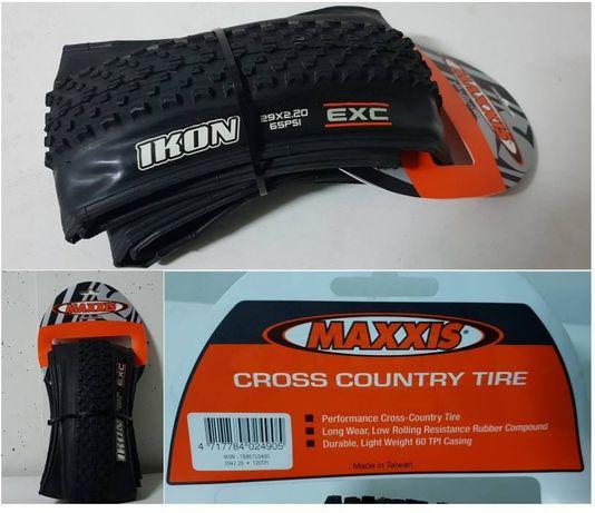 Pneus maxxis p/ bicicleta btt