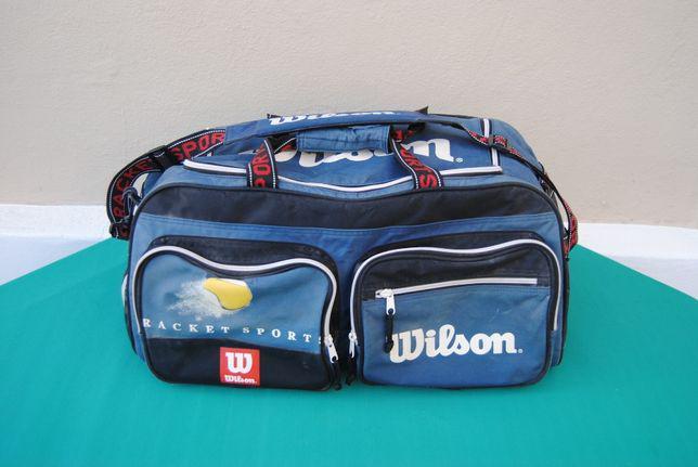 Saco de desporto (ténis) wilson vintage mochila