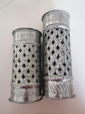 Castiçais para velas modernos (conjunto)