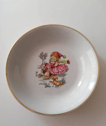 Prato fundo em porcelana emma