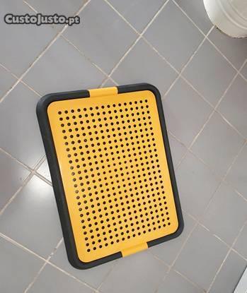 Casa de banho para cães - interior de casa