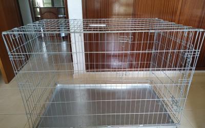 Crate / box / jaula dobrável para animais