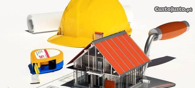 Remodelações moradias, apartamentos, lojas