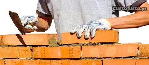 Serviços de obras e construçao civil