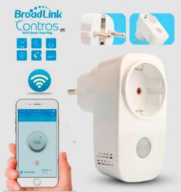 Tomada inteligente wifi broadlink, controlo remoto