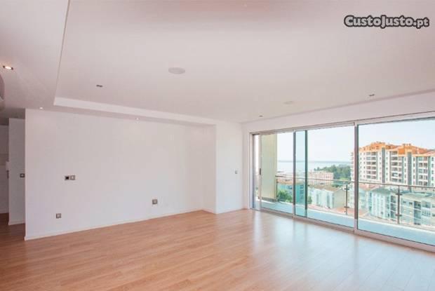 Apartamento luxo t3 com varanda/vista rio -...