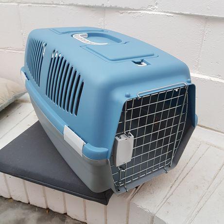Caixa transportadora (crate) cães ou gatos, oferta cama de