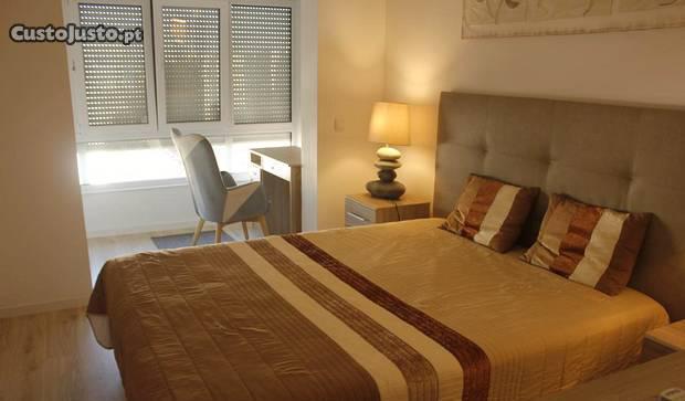 T2 mobilado, decorado e climatizado em oeiras