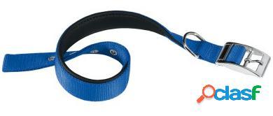 Ferplast colar de nylon azul daytona m